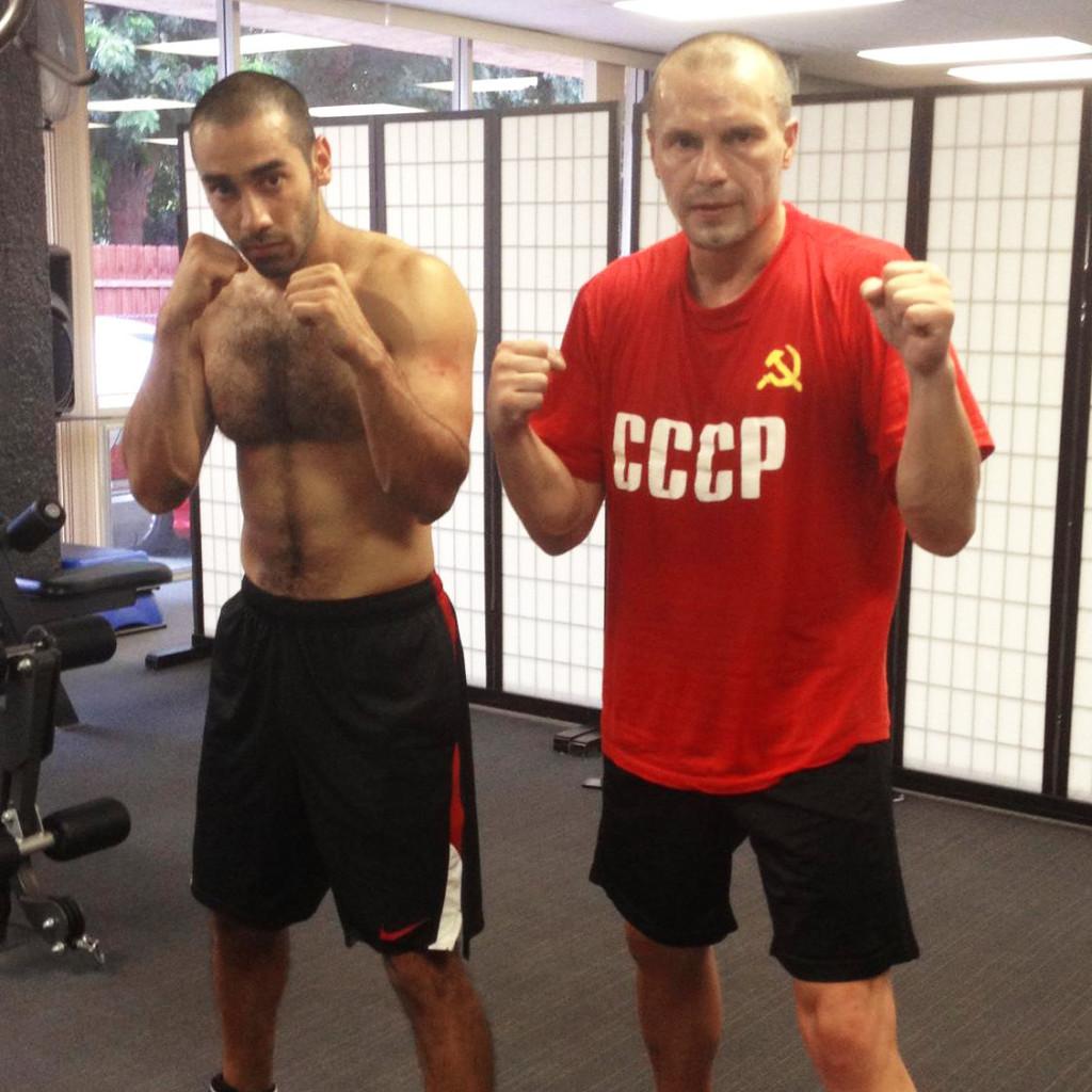 Farid Hashemi & Grisha Todorov